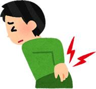 府中市で交通事故による腰痛